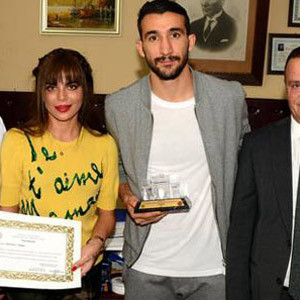 Mehmet Topal'a büyük onur !