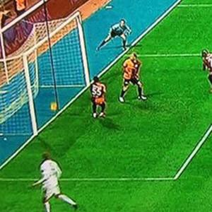 ''Hakem yanlış yerde durunca golü göremedi''