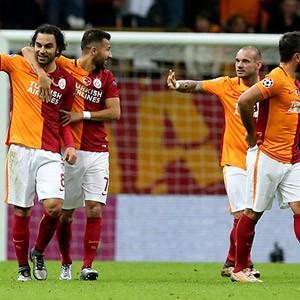 Galatasaray UEFA Avrupa Ligi'nde !