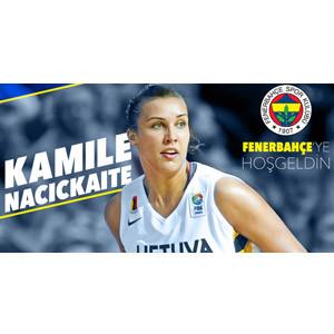Kamile Nacickaite resmen Fenerbahçe'de