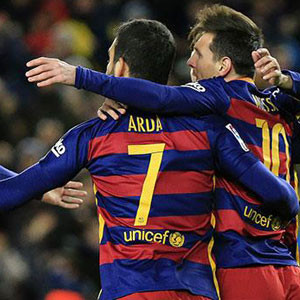 Arda'lı Barça şov yaptı !