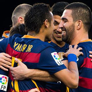 Camp Nou'nun alkışları