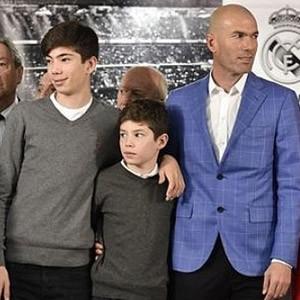 Real MAdrid'i Zidane'ın çocukları yaktı