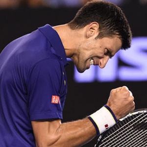 Djokovic 6. kez şampiyon !