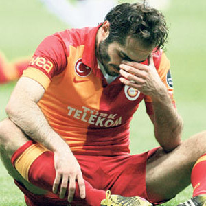Galatasaray'da Hamit Altıntop dramı