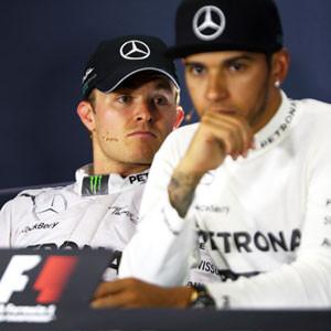 Rosberg ve Hamilton arasında kriz !