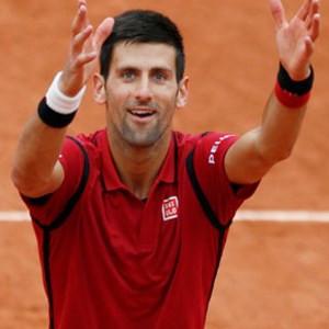 Djokovic, Messi'ye rakip oldu !