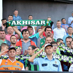 Akhisar Belediyespor'a seyirci şoku