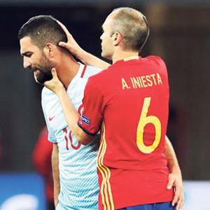 Iniesta: ''Beni de üzdü''