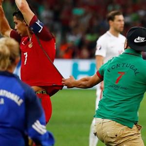 Ronaldo'nun panik anları !