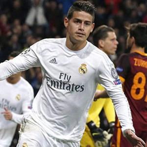 Real Madrid, James'in biletini kesti