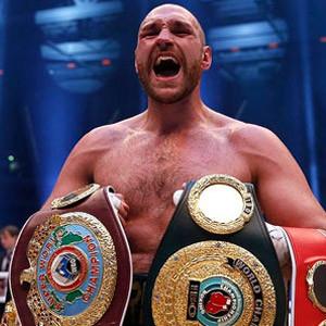 Tyson Fury'nin testi pozitif çıktı !