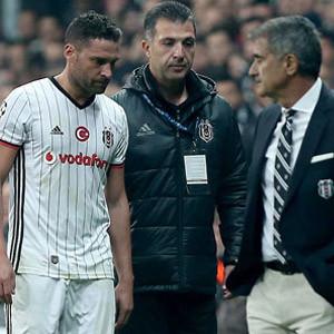 Beşiktaş'ta bir sakatlık daha ! Dusko Tosic...