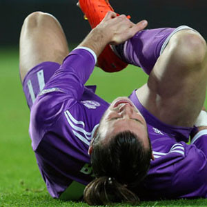 Gareth Bale tam 4 ay yok !