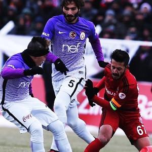 Cimbom Erzincan'da buz tuttu
