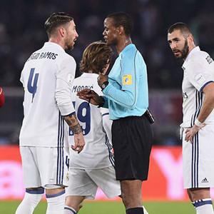 Hakem Ramos'a kart gösteremedi