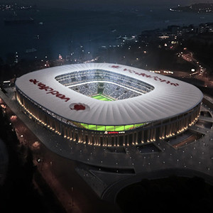 Vodafone Arena'ya büyük onur !