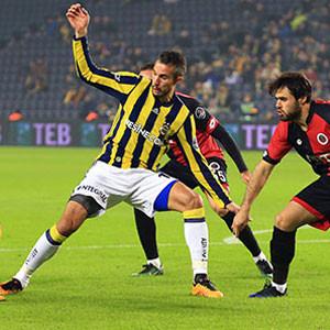 Fenerbahçe'nin 3 puanı santrforlarına bağlı