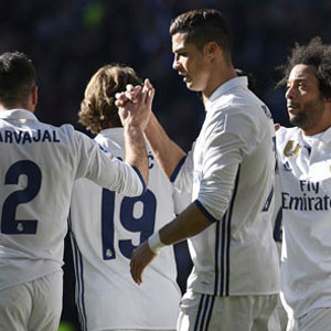 Real Madrid fişi ilk yarıda çekti!