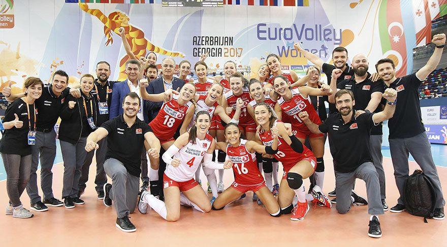 Türkiye Avrupa üçüncüsü !
