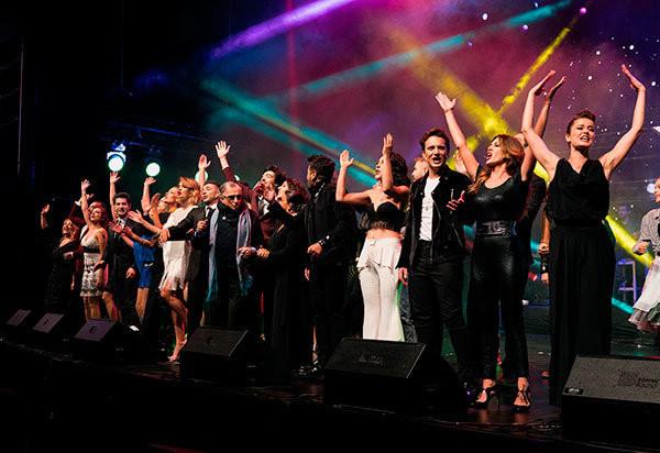 Irmak Ünal ''Broadway'den İstanbul'a Müzikaller'' gösterisine damga vurdu