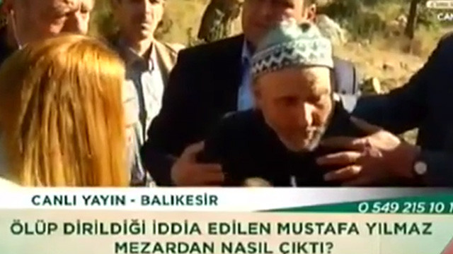 ''Yaşayan ölü'' Mustafa amca, Zahide Yetiş'i şaşkına çevirdi