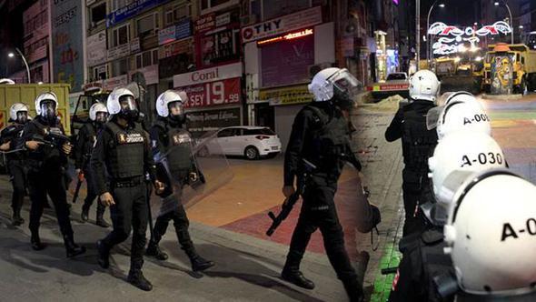 Bakırköy'de gerginlik ! Polis müdahale etti