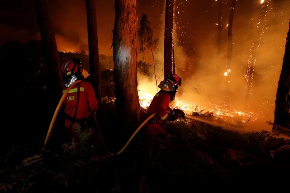 Bir ülkede daha yangın faciası: 27 ölü