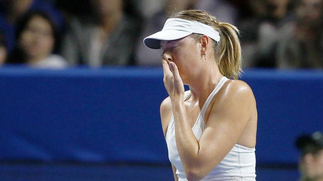 Maria Sharapova ilk turda elendi !