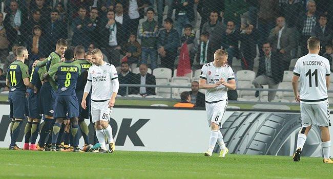 Konyaspor - Salzburg: 0-2