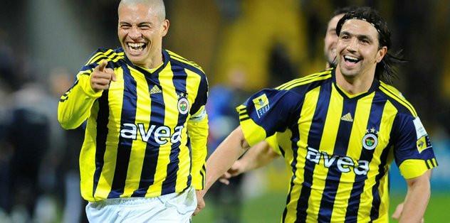 Alex'ten Fenerbahçe'ye mesaj var !