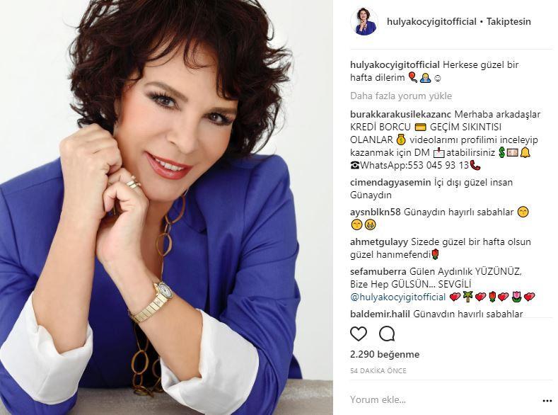 Ünlü isimlerin Instagram paylaşımları (23.10.2017)