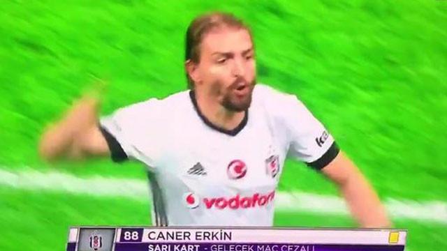 Caner Erkin'den hakeme 'iğrenç' küfürler !