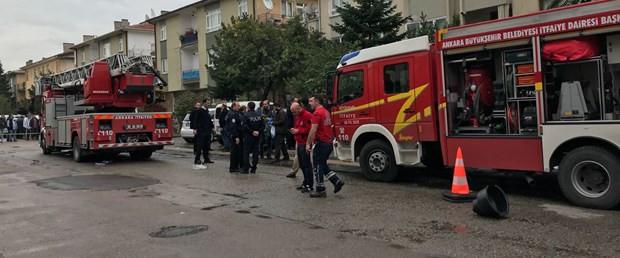 Ankara'da doğalgaz patlaması: 1 ölü, 4 yaralı