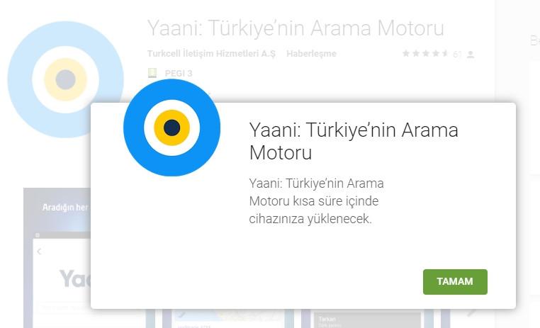 Yerli arama motoru Yaani yayınlandı