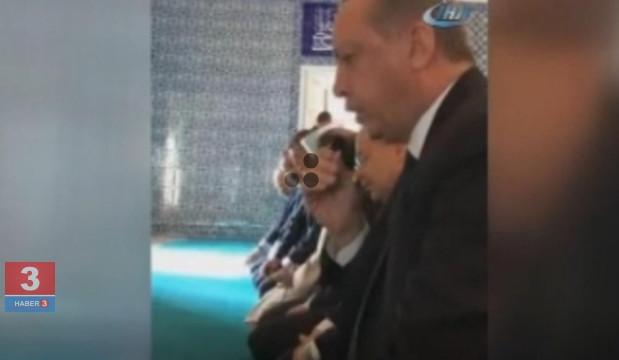 Erdoğan Kur'an okudu, Bozdağ paylaştı