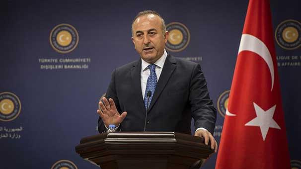 Bakan Çavuşoğlu: ''Barzani'nin hırsı...''