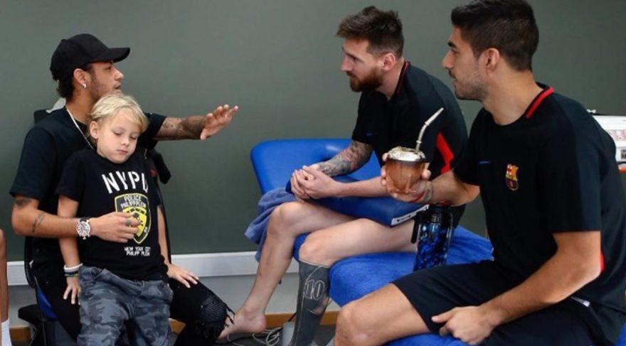 Neymar'dan ima dolu paylaşım !