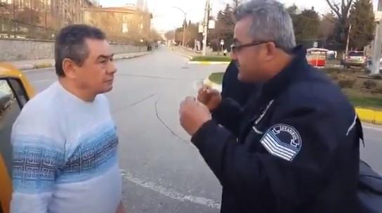 Türkiye'nin en olması gerektiği gibi olan trafik polisi