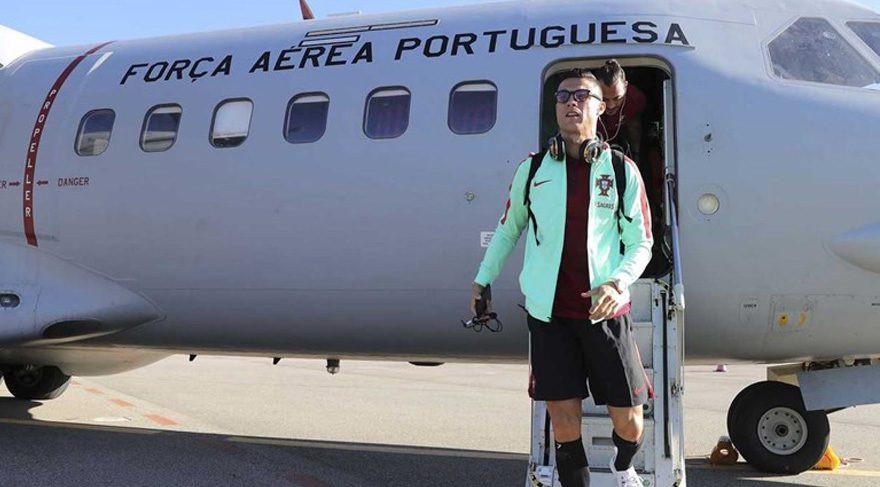 Portekiz, Andorra'ya askeri uçakla gitti