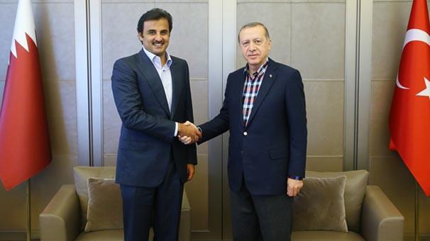 Katar Emiri Türkiye ile iş birliği protokollerini imzaladı