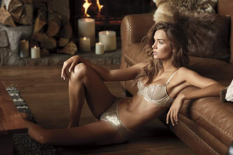 Victoria's Secret'in tatil sezonu kreasyonu göz kamaştırdı