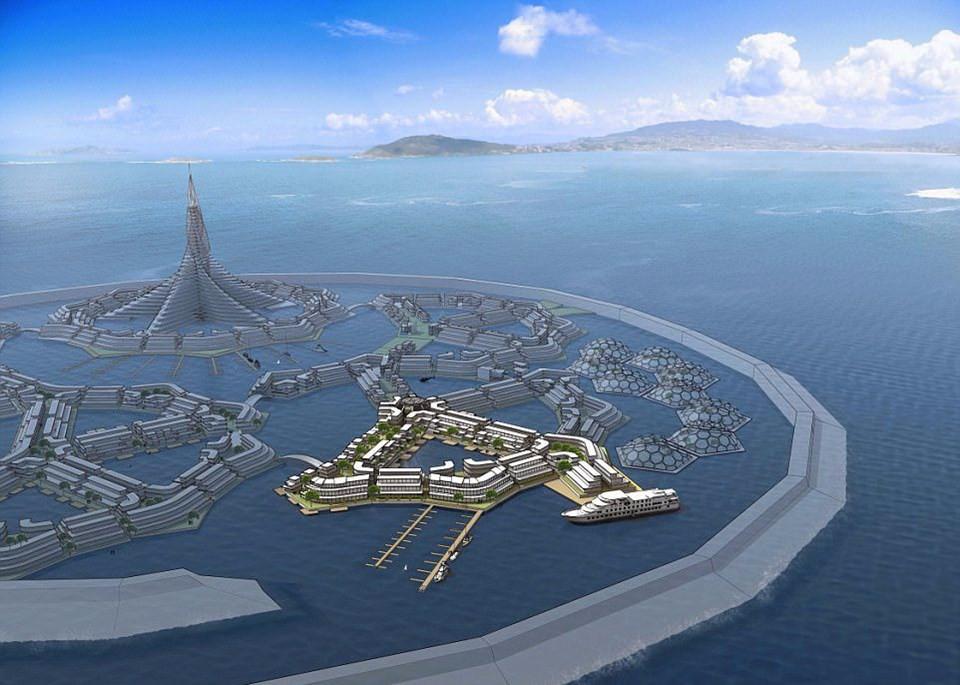 İlk yüzen şehir için tarih verildi