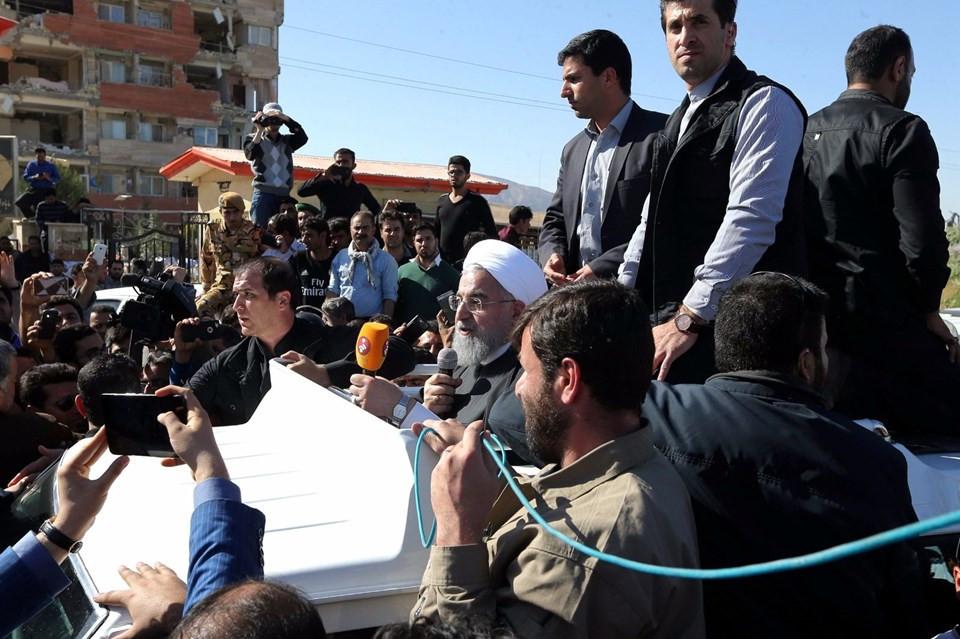 Ruhani: Devletin yaptığı konutlar yerle bir olmuş