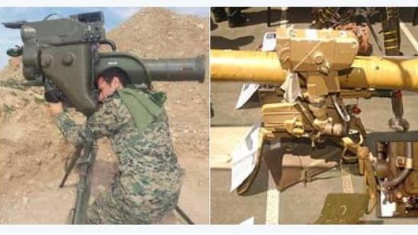 Hepsi Alman, Fransız ve Rus silahları...