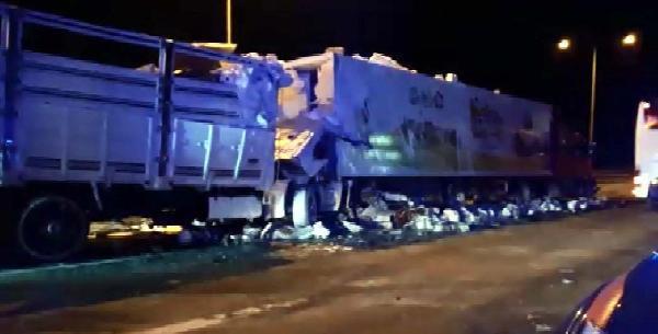 Ankara-İstanbul yolunda katliam gibi kaza