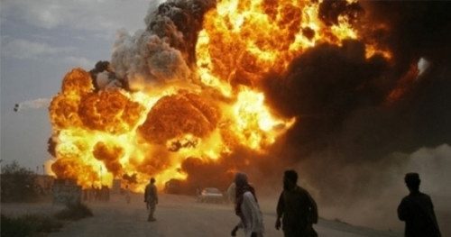 Camiye canlı bomba saldırısı