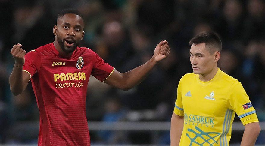 Cedric Bakambu Villarreal'i sırtladı !