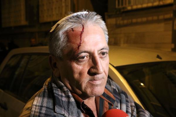 Taksici gaspçının kimliğini aldı
