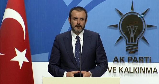 AK Parti'den CHP liderine yanıt: ''Kendi yalanında boğulacak''